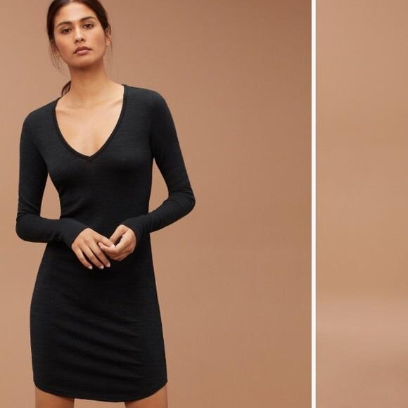 BNWT black Aritzia dress medium